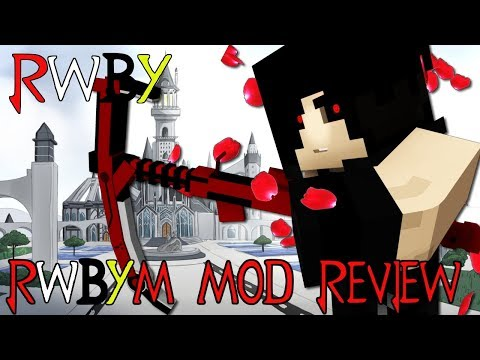 NEW WEAPONS, NEW GRIMM, DUST & MORE! || Minecraft RWBYM 1.12.2 Mod Review (Minecraft RWBY Mod)