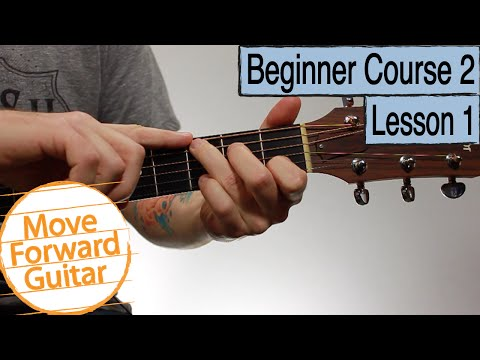 Beginner Guitar Course 2 - G C D Major Chords