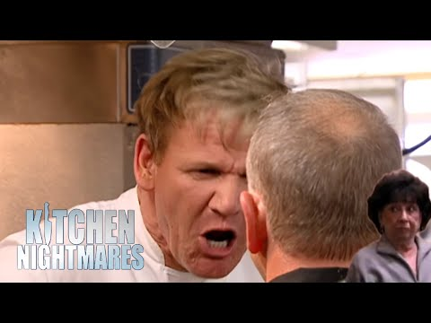 i dont want peace i want problems, always | Kitchen Nightmares