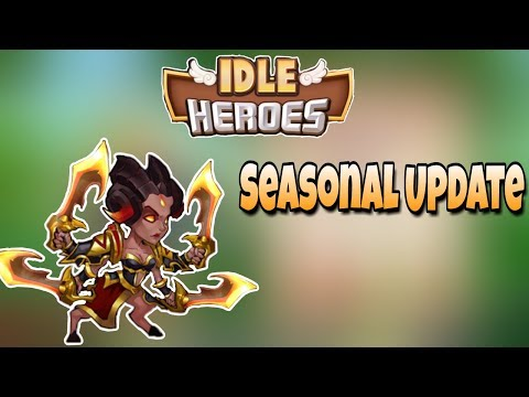 Idle Heroes - Seasonal - 6 Star Queen! Progress Update - WrathofGod