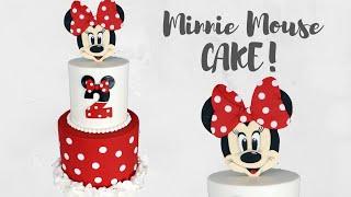 Disneys Minnie Mouse Ruffly Cake Tutorial!