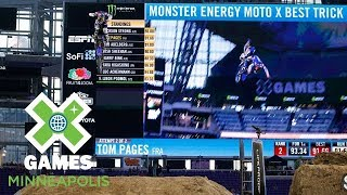Tom Pages wins Moto X Best Trick silver | X Games Minneapolis 2018