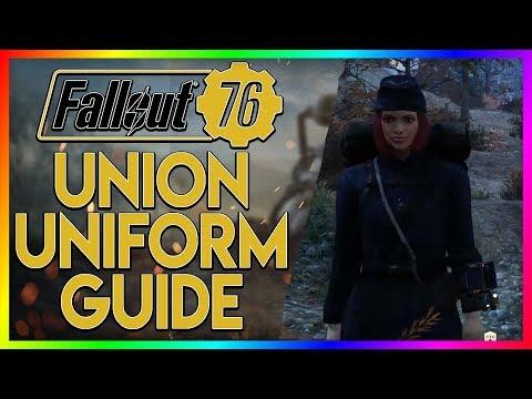 FALLOUT 76 Rare Armor Guide - Confederate Outfit - смотреть