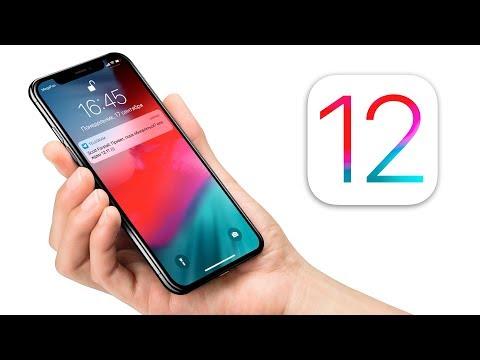 iOS 12 вышла - смотрим главные 12 фишек! онлайн видео