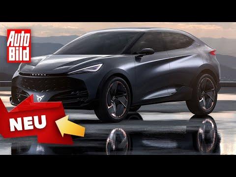 Cupra Tavascan (2024) | Das wird Cupras erstes E-SUV | Skizze