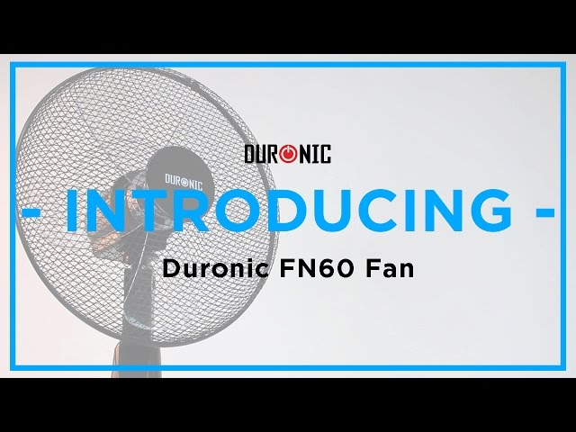 Duronic FN60 Stand Fan with Remote Control & Timer | Simple | Tutorial
