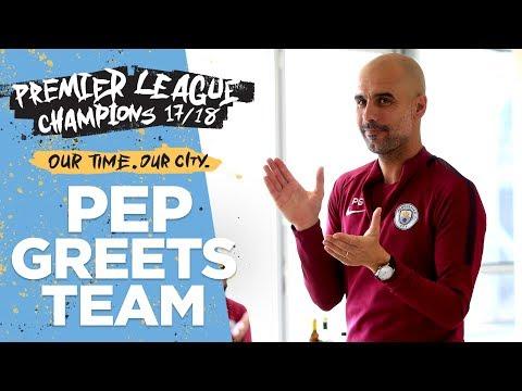 Pep's Speech To Players & Staff |