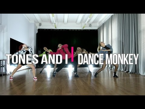 TONES AND I - Dance Monkey | #alberzonefierce choreography | groups
