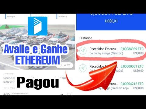Pagou!! Avalie e Ganhe Ethereum na Coinbase - NewsGO