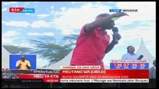 Mbiu ya KTN:Naibu Rais aongoza mkutano wa Jubilee  Naivasha