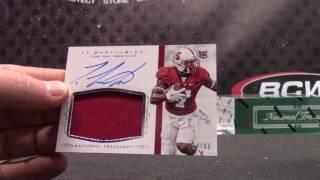 2016 National Treasures Football NCAA 1/2 Case 2 Box Serial #s GB