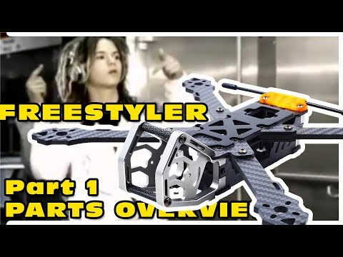 Project introduction for a new Freestyle FPV Quad :)