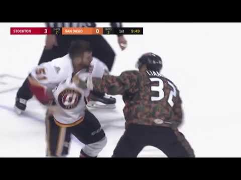 Tanner Glass vs Mike Liambas