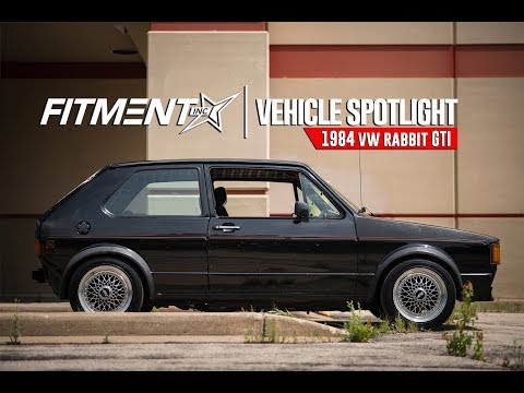 Vehicle Spotlight - Lowered 1984 VW GTI Rabbit