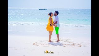 Diana and Bahati Romantic Valentines at The Chale Island |BAHATI REALITY