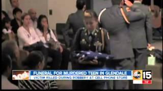 Teen killed in Phoenix robbery honored