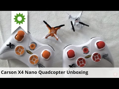 Carson X4 Nano Quadcopter Unboxing