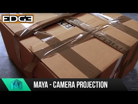 Maya Tutorial – Camera Projection & Camera Mapping for Beginners HD