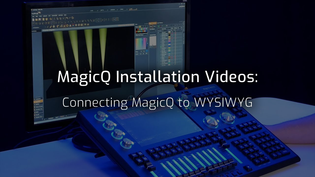 Connecting MagicQ to WYSIWYG