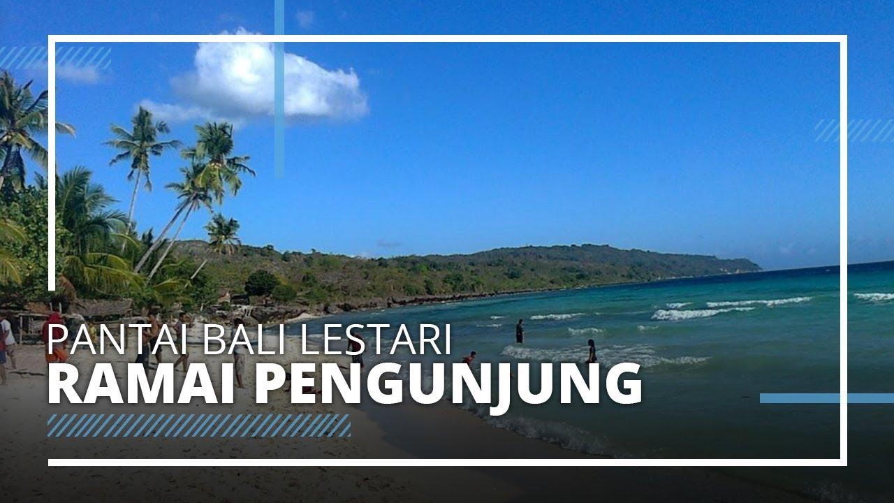 Wisata Pantai Bali Lestari Ramai Dikunjungi Wisatawan di ...