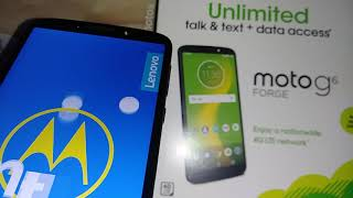 Hard Reset Moto g6 Forge Cricket Wireless How to remove password pattern PIN blocking the screen