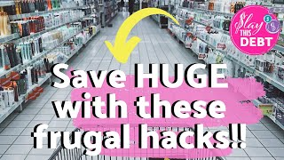 🔥Ultimate Frugal Living Tips And Hacks That Will SAVE You THOUSANDS Of Dollars!