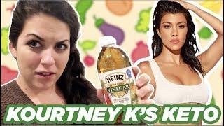 I Tried Kourtney Kardashian's Ideal Day of Keto Meals