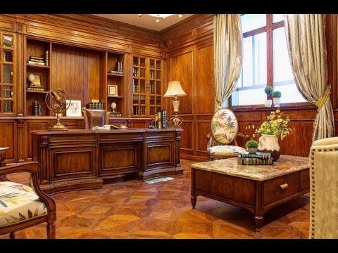 Мебель Бенцони (Bentsony): Дизайн Кабинета Монтана М03-1. www.bentsony.ru