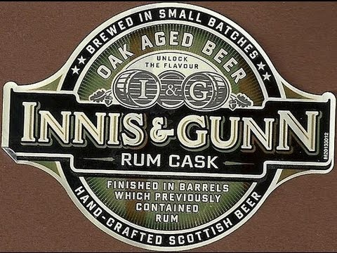 Innis & Gunn Rum Cask Oak Aged Beer | Beer Geek Nation Beer Reviews Episode 311