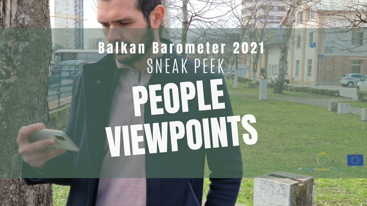 Sneak peek of Balkan Barometer 2021 - #Disinformation