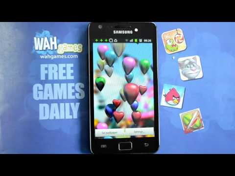 Video of Baloons live wallpaper
