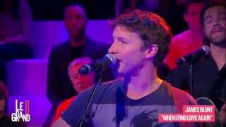 James Blunt - When I find love again (Live @ Le Grand 8)