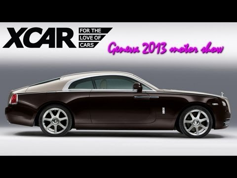 Rolls Royce Wraith, Geneva 2013 Motor Show - XCAR