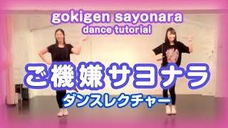 IZ*ONE ご機嫌サヨナラ ダンスレクチャー 아이즈원 gokigen sayonara dance tutorial (ゆっくり 反転 : mirror slow)