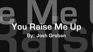 you raise me up female version minus one - TH-Clip