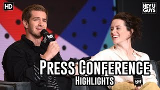 Breathe Press Conference Highlights | Andy Serkis | Andrew Garfield | Claire Foy |  TIFF17