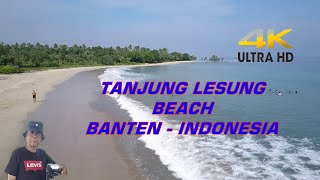 4K Tanjung Lesung beach Banten, Java.( Dji Phantom 4 Pro)