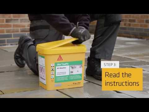 How To Apply Sika FastFix All Weather