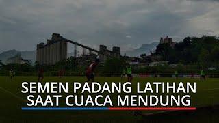 Tim Semen Padang FC Berlatih Selama 2 Jam saat Cuaca Mendung, Weliansyah Pimpin Latihan