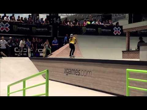 Pamela Rosa wins silver in X Games Austin Women's Skateboard Street - ESPN