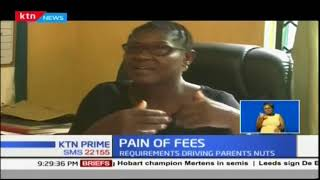 Parent from Kwale collapses after allegedly getting a shock over the fees payment