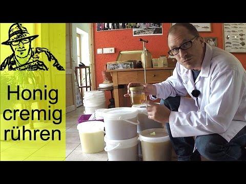 Honig nach der Ernte: Das Rühren für cremigen Honig