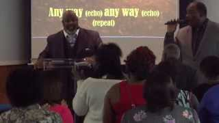 Anyway You Bless Me Lord - Curtis Williamson at the Hartman Road Church of Christ