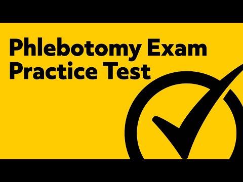 Phlebotomy Exam Practice Test - YouTube