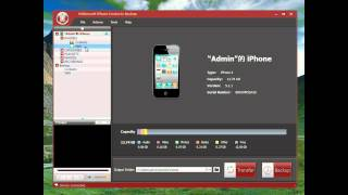 How to use 4videosoft iPhone Contacts Backup