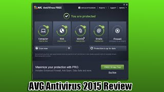 AVG Antivirus Free video review