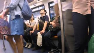 2015-03-19 On the sky train, Bangkok