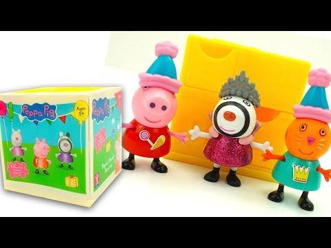 Свинка Пеппа сюрприз коробка. Игрушкин ТВ