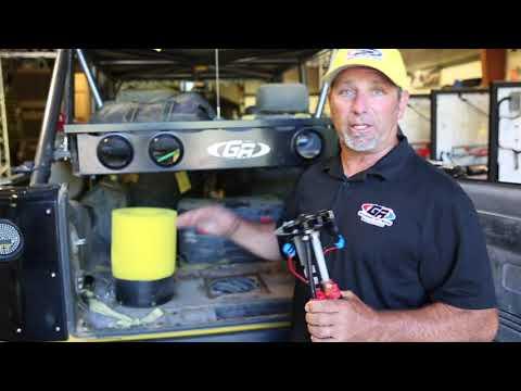 Tony Pellegrino talking about his show jeep phantom set up