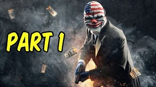 PAYDAY 2 Gameplay PC - Part 1 - Multiplayer Co-op Let's Play - Tutorial! | xxSnEaKyGxx